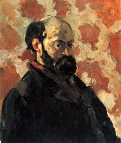 Portrait de l'artiste au fond rose