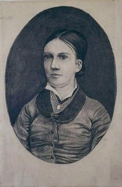 Portrait of Willemina Jacoba ('Willemien') van Gogh