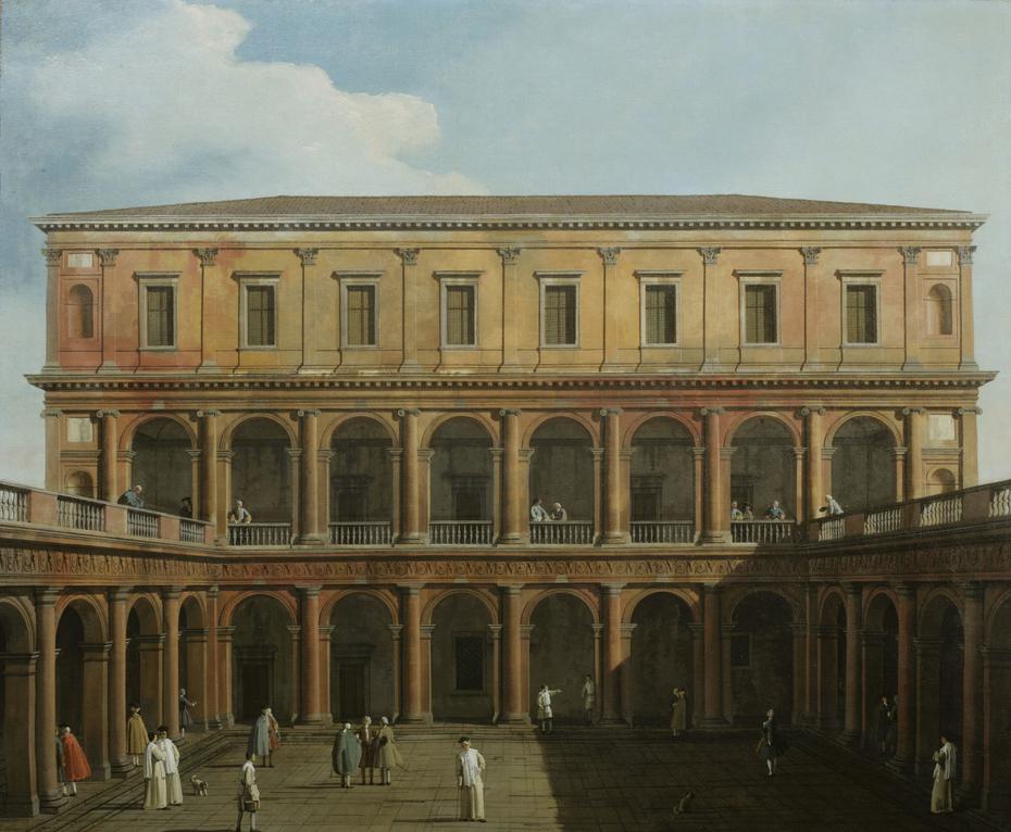 Venice: Capriccio of the Monastery of the Lateran Canons.