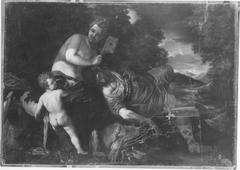Venus with the sleeping Adonis