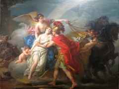 Venus, Wounded by Diomedes, is Saved by Iris