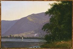 View of Lake Nemi