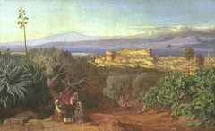 View of Reggio and the Straits of Messina