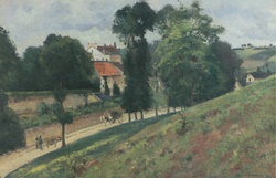 View of the Maison des Mathurins, Pontoise