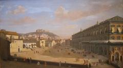 View of the Royal Palace at Naples