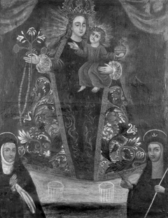 ''Virgin of the Rosary with Worshipers''
