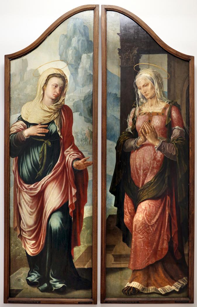 Visitation, Virgin and Elisabeth