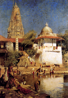 Walkeshwar temple and Banganga Tank