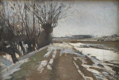 Winter Landscape. Utterslev near Copenhagen