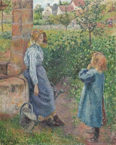 Woman and Child at the Well