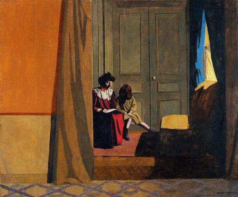 Women Reading to A Little Girl